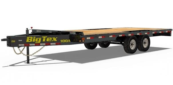2019 Big Tex Trailers 10OA-18 Equipment Trailer
