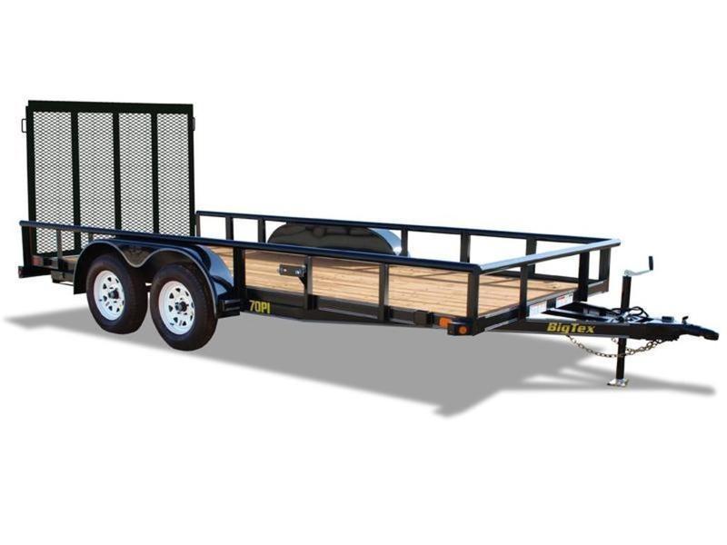 2020 Big Tex Trailers 70PI-20XBK4RG 20' Utility Trailer