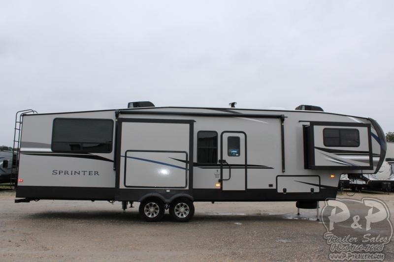 2020 Keystone Sprinter LIMITED 3551FWMLS 39' Fifth Wheel Campers