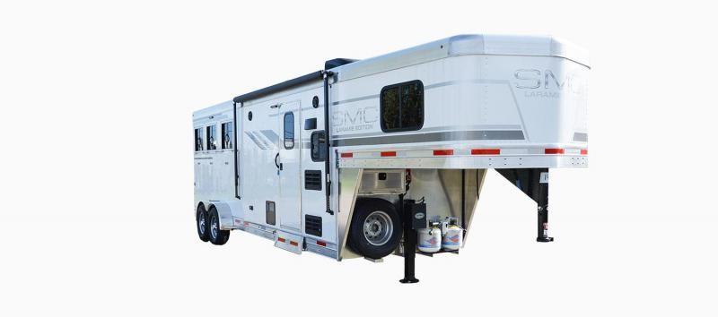 2019 SMC Horse Trailers SLX8FK LARAMIE 3 Horse 8' LQ Horse Trailer Slant