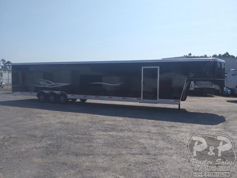 2019 P and P 40 Car Hauler Standard 40' Enclosed Cargo Trailer