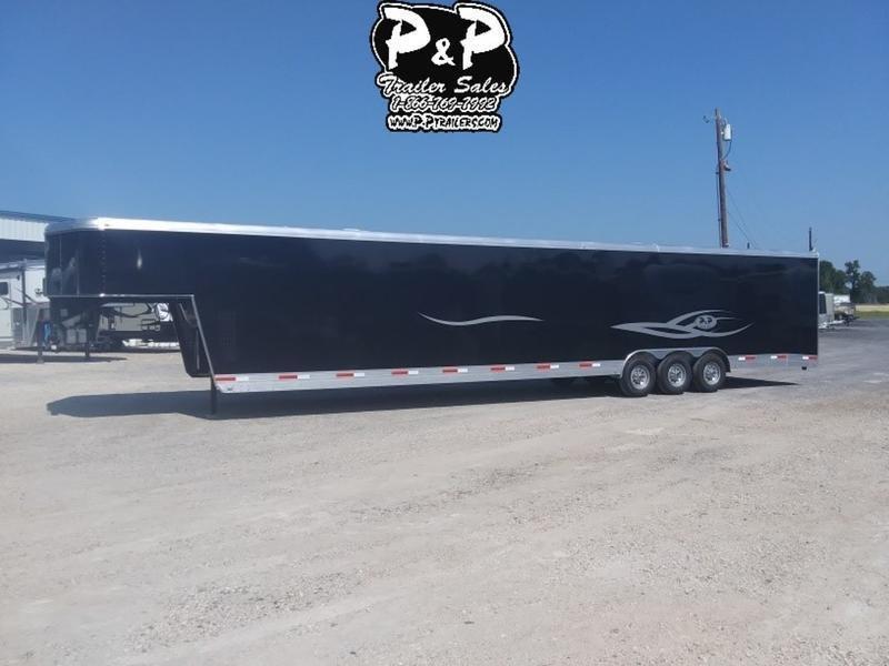 2019 P and P 40 Car Hauler Standard 40' Enclosed Cargo Trailer in Ashburn, VA