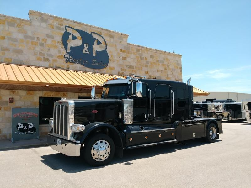 2015 Bloomer Trailers 5H 22'6 SW Double Slide-out PC Load
