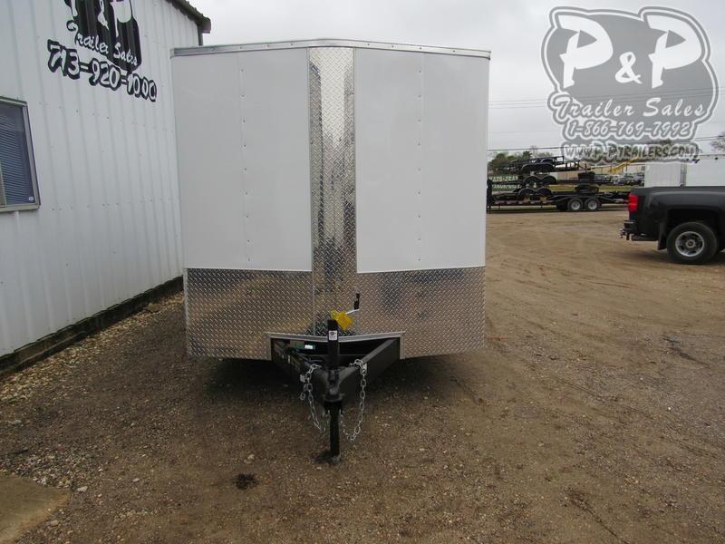 2020 Carry-On 7X14' CGRBN 14 ft Enclosed Cargo Trailer