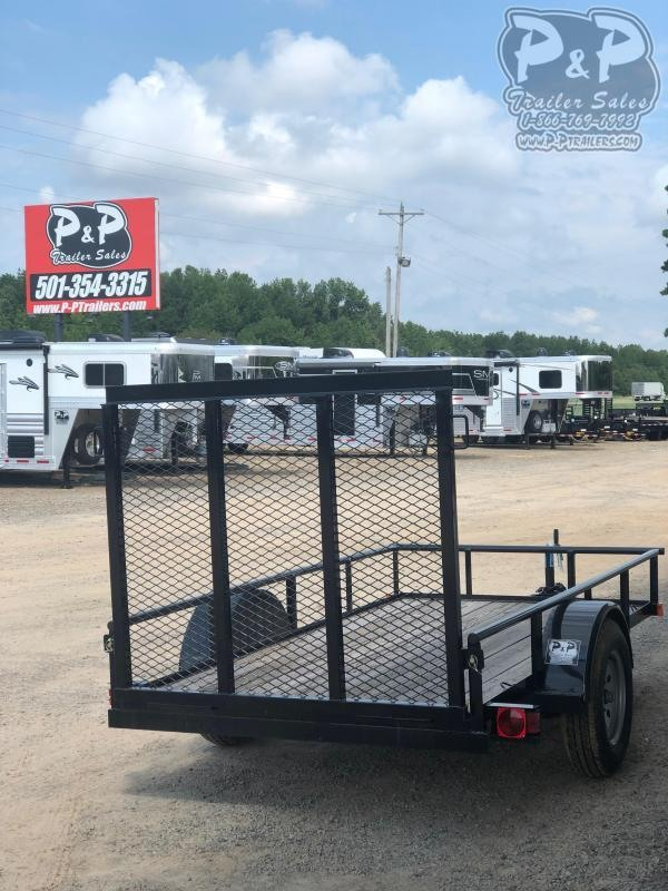 2020 Big Tex Trailers 30ES-10BK4RG 10 ft Utility Trailer