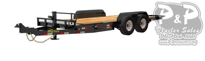 2020 Big Tex Trailers 14FT 20BK 20 ft Equipment Trailer