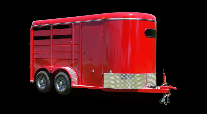 2019 CM Dakota 3 Horse Trailer Slant