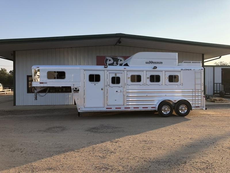 2019 Platinum Coach Trailers 4H Smart Tack
