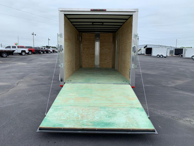 "2019 Arising 7X14VTRW Cargo / Enclosed Trailer 6"" Additional Height"