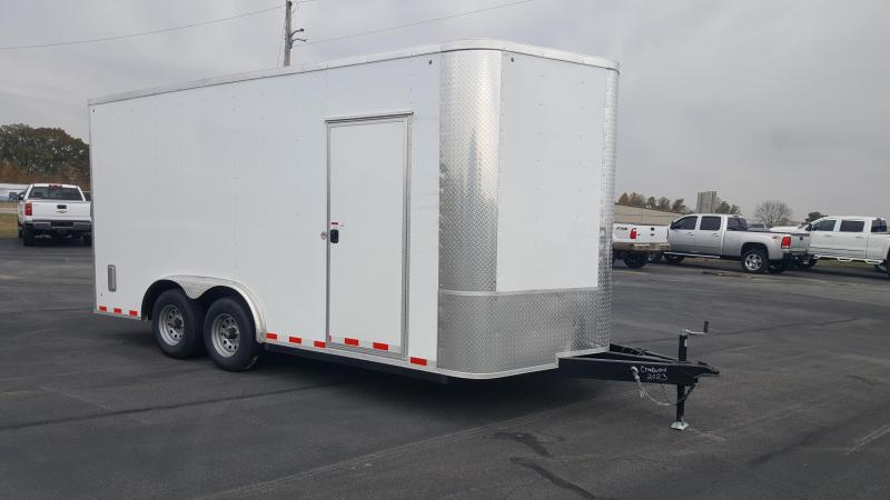 2019 Arising 8.5 X 16VTRB Enclosed Cargo Trailer 12