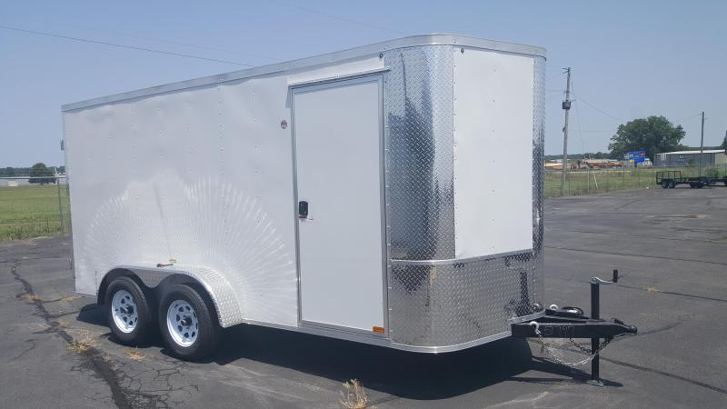 2018 Arising 7X14VTDW Enclosed Cargo Trailer 6