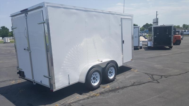 "*ON SALE* 2018 Arising 7X14VTDW Enclosed Cargo Trailer 6"" Additional Height"
