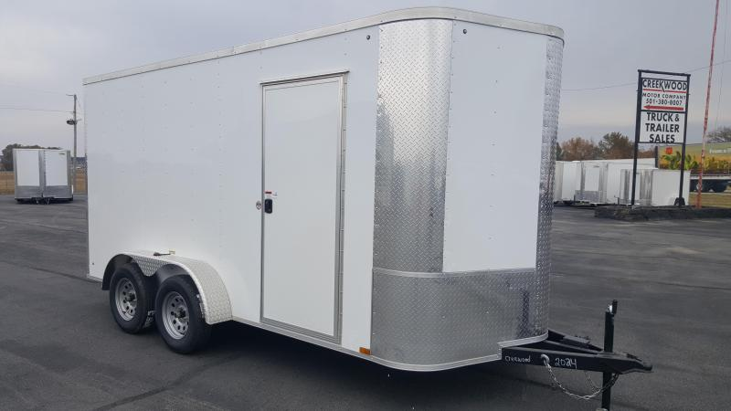 2019 Arising 7X14VTRW Cargo / Enclosed Trailer 12