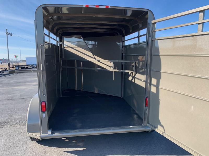 2019 Calico Trailers 2 Horse Bumper Pull 12' Horse Trailer