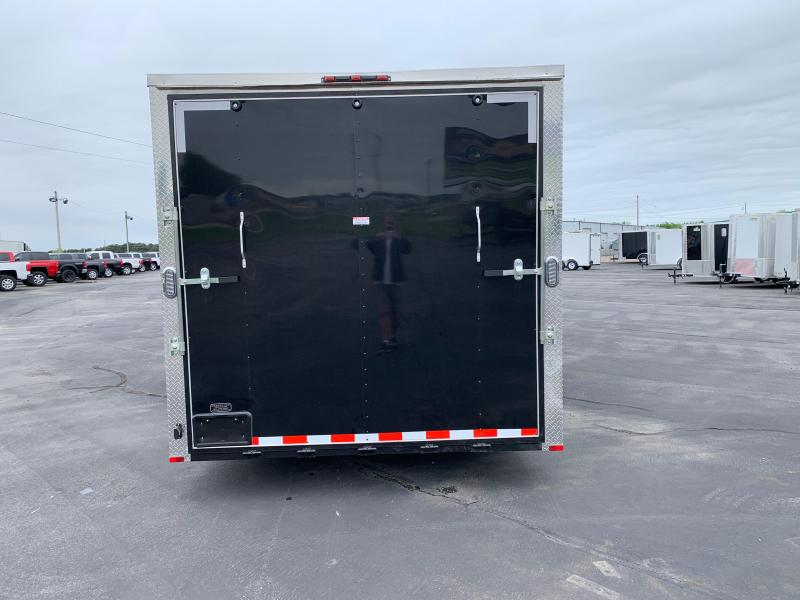 2019 Arising 8.5X20VTRB Cargo / Enclosed Trailer 12' Additional Height