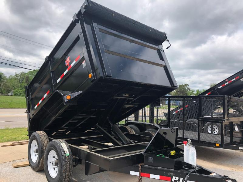 10' PJ High Side Dump Trailer (DH)