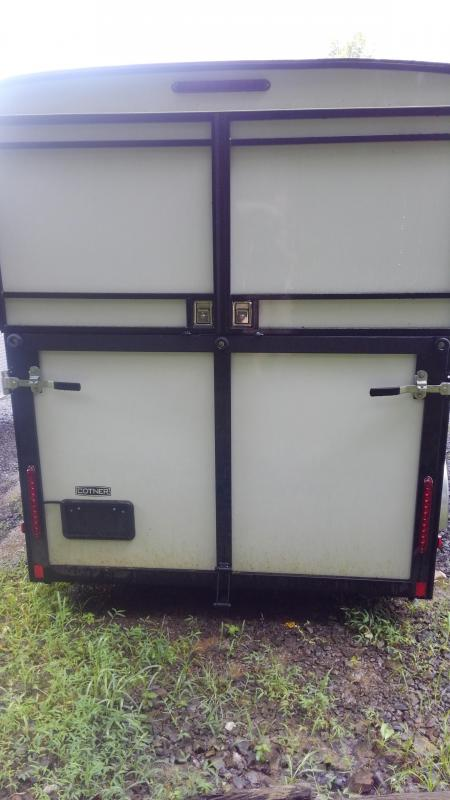 2019 Cotner Trailers Inc. Three Horse Trailer