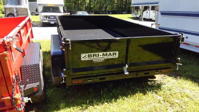 2019 BriMar DT612LP-LE-10  Dump Trailer