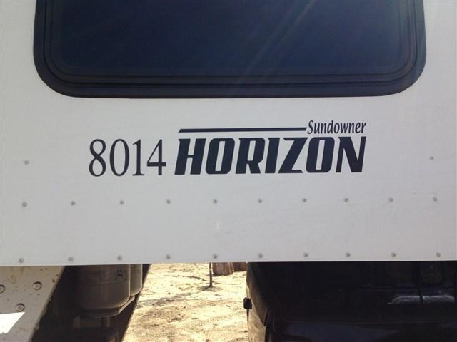 2010 Sundowner Horizon 8014 4 Horse Slant Load Trailer
