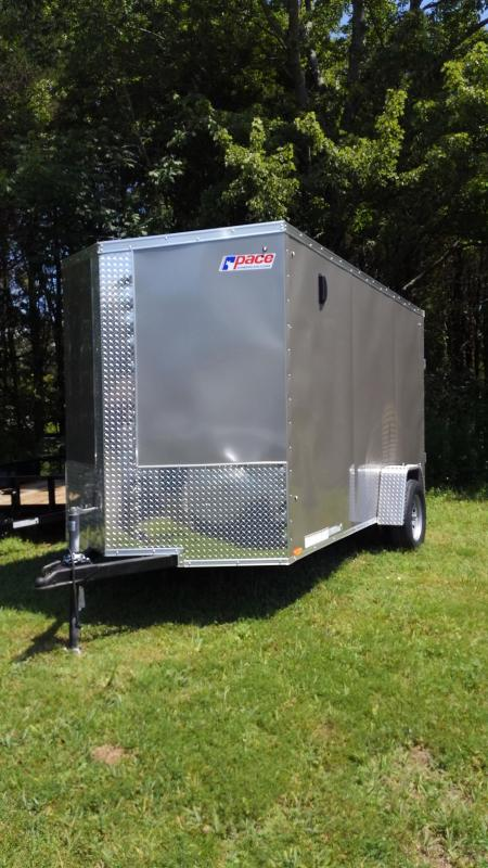 2020 Pace American Journey Se Cargo Flat Top Cargo / Enclosed Trailer 6 x 12