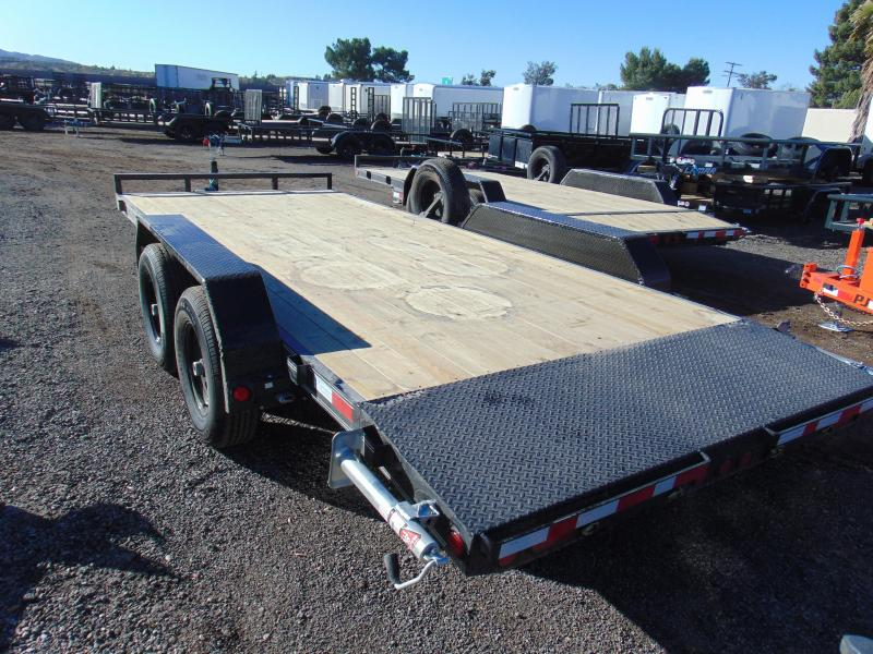 2019 PJ Trailers 83X18 Car Hauler Car / Racing Trailer