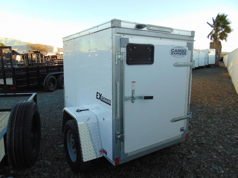 2019 Cargo Express EX4X6 Enclosed Cargo Trailer