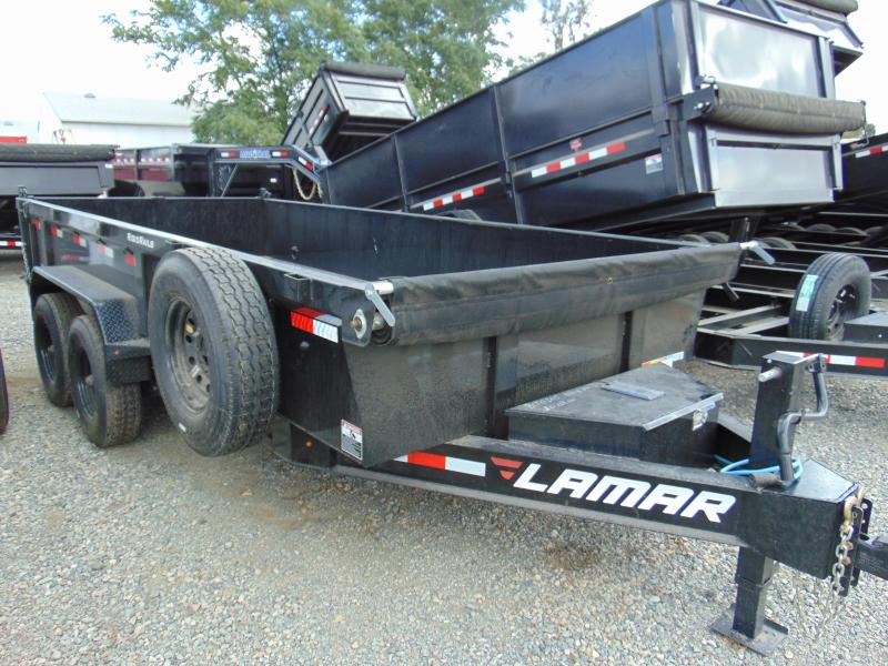 2019 Lamar Trailers 83 in. Low Pro Dump Dump Trailer