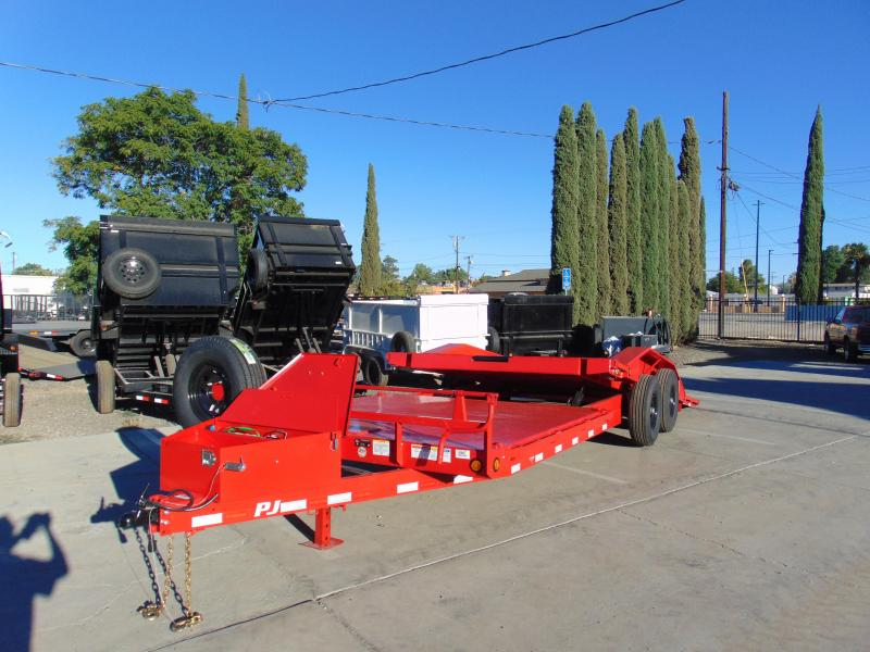 2019 PJ Trailers BUGGY HAULER TILT BED Equipment Trailer