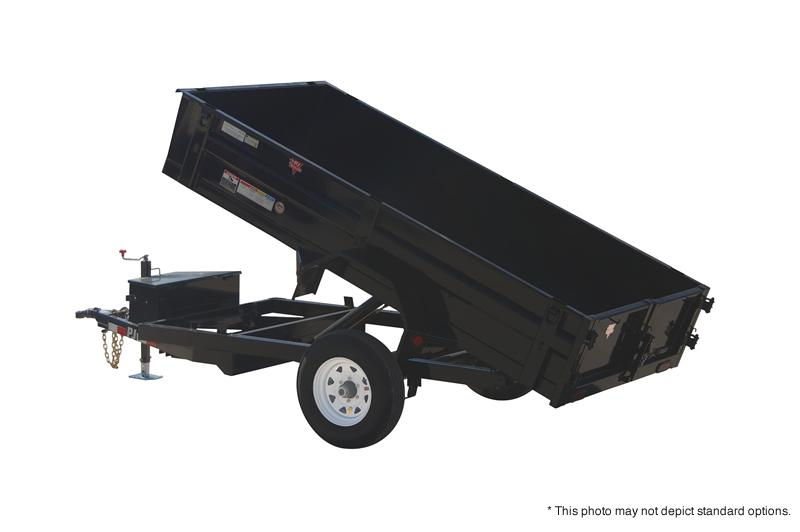 "2018 PJ Trailers 8' x 60"" Utility Dump Trailer in Ashburn, VA"