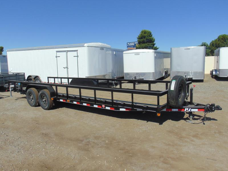 2019 PJ Trailers 83X26 Equipment Trailer