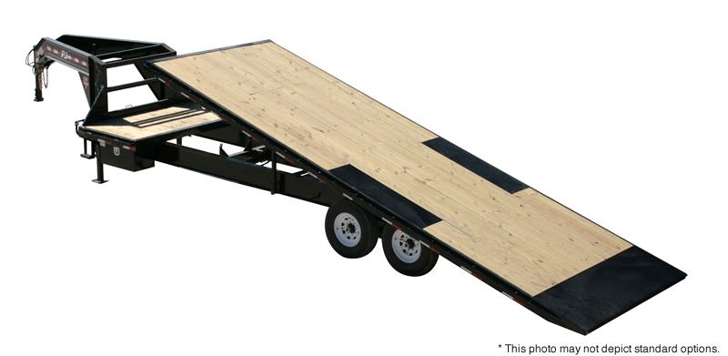 2018 PJ Trailers 24' HD Deckover Tilt Trailer