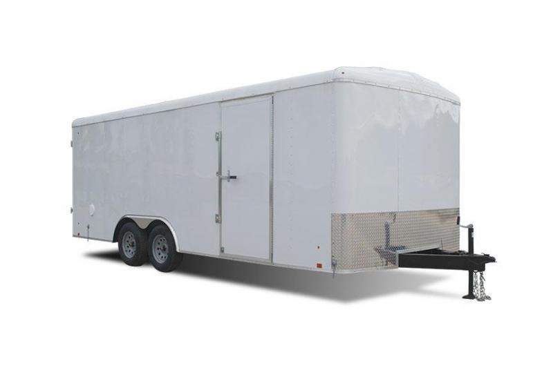 2018 Cargo Express EX DLX Series 8.5' Enclosed Cargo Trailer