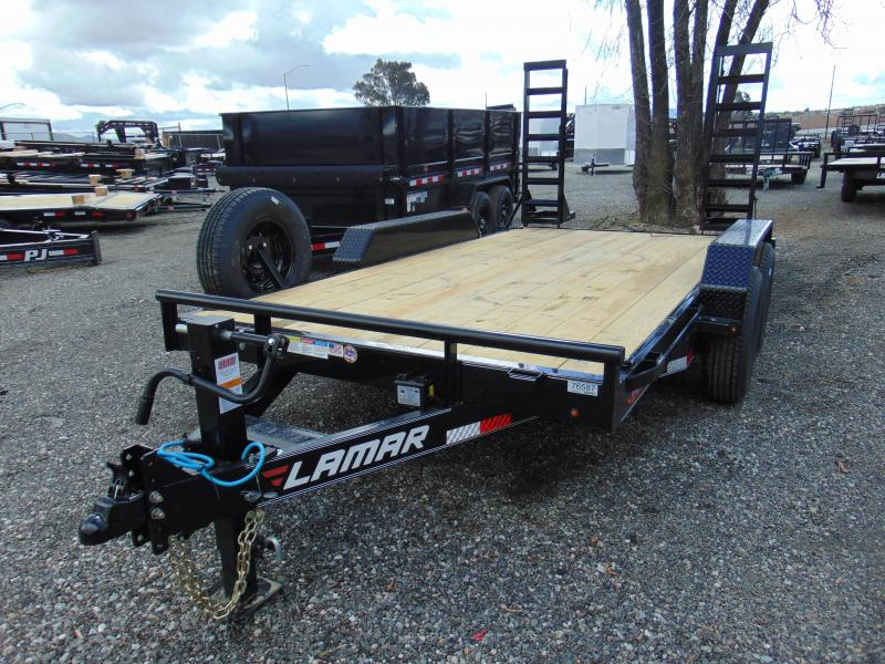 2019 Lamar Trailers 83X14 Tandem Axle Equipment Trailer in Ashburn, VA