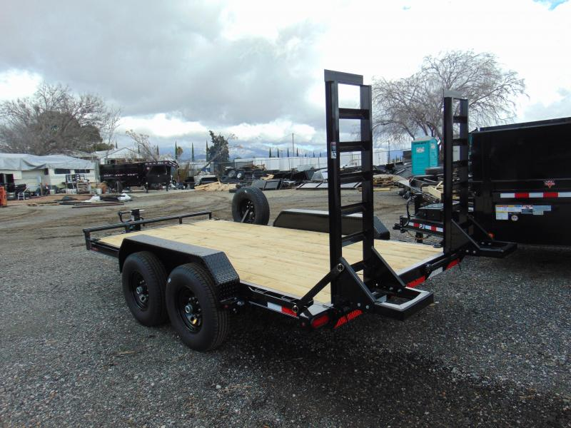 2019 Lamar Trailers 83X14 Tandem Axle Equipment Trailer