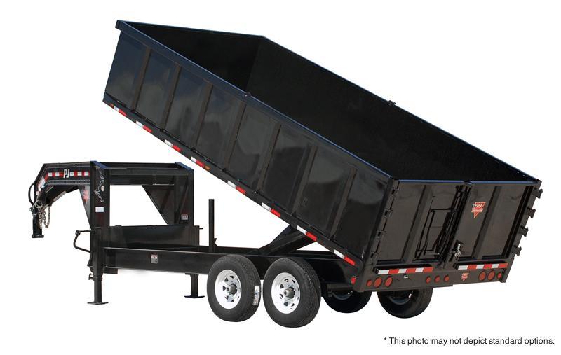 "2018 PJ Trailers 16' x 91"" Deckover Dump Trailer in Ashburn, VA"