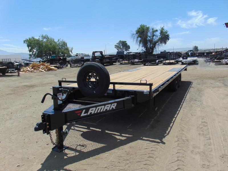 2019 Lamar Trailers 102 X 24 Deck Over Equipment Trailer