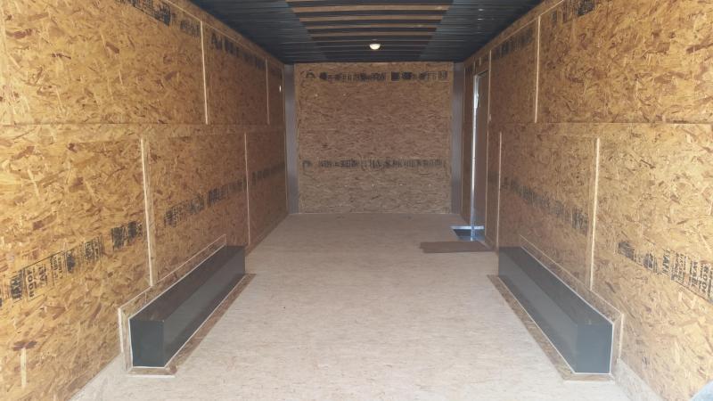 2018 Cargo Express 8.5 X 24 LX Cargo / Enclosed Trailer