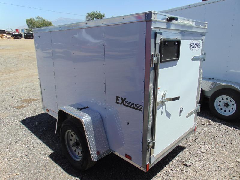 2018 Cargo Express 4x8 Enclosed Enclosed Cargo Trailer