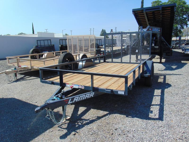 2019 Lamar Trailers 77 in. Single Axle Utility Utility Trailer