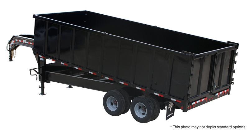 2017 PJ Trailers 18' Tandem Dual Dump Trailer in Ashburn, VA