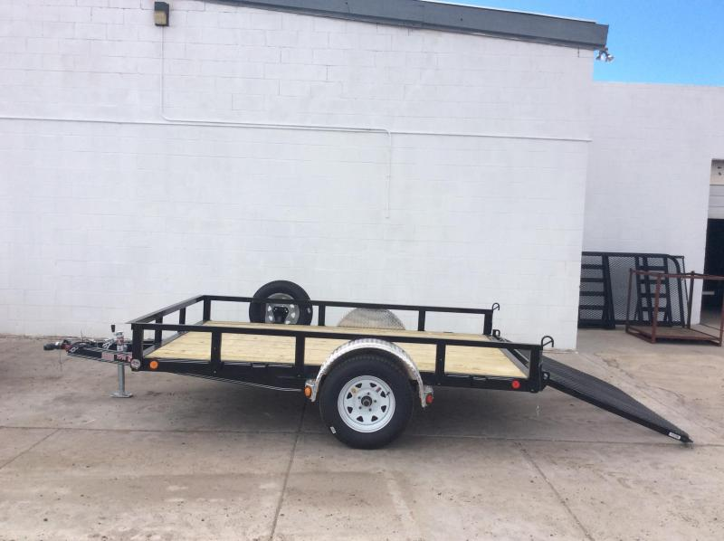 "2015 PJ Trailers 10' x 83"" Channel Utility Trailer"