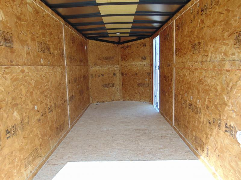 2019 Cargo Express 7X16 Tandem Axle Enclosed Cargo Trailer