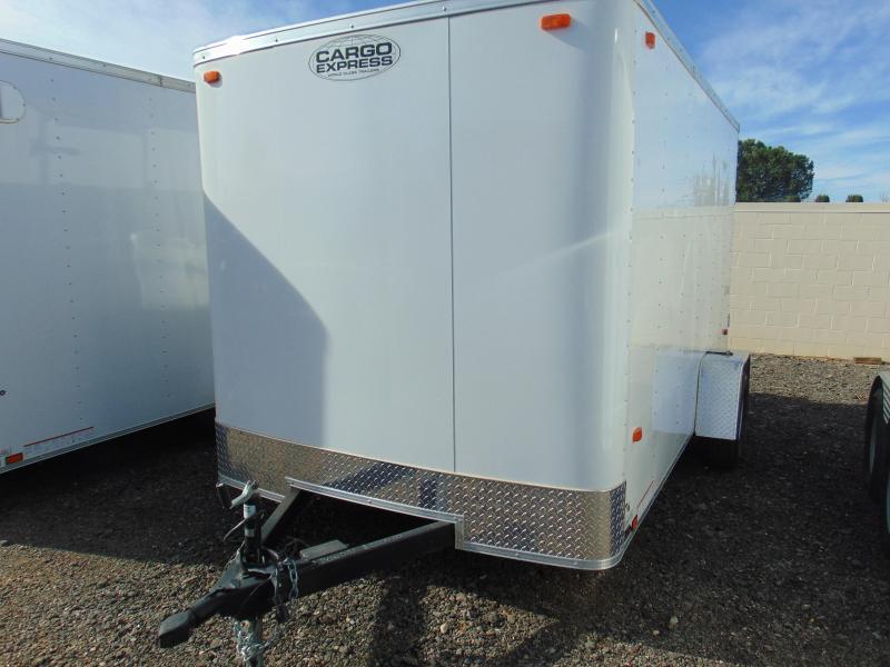 2016 Cargo Express 7X12 Enclosed Cargo Trailer