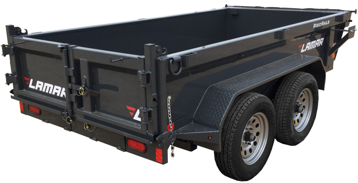 2018 Lamar Trailers Mini Dump Trailer (DS)