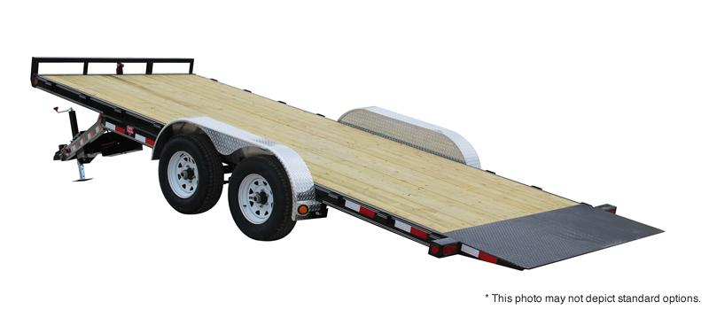 "2017 PJ Trailers 18' x 83"" Hydraulic Quick Tilt Trailer"