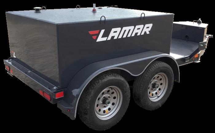 2018 Lamar Trailers Farm Boss 500 Fuel Trailer (K5)