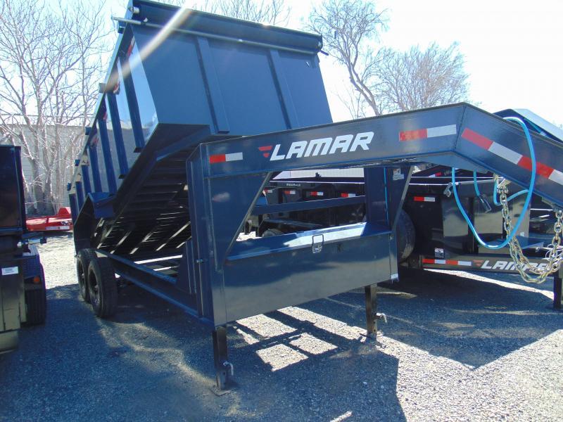 2019 Lamar Trailers 83X16 Dump Trailer