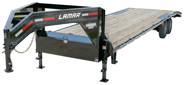 2018 Lamar Trailers Heavy Duty Deck-Over Flatbed (FS)
