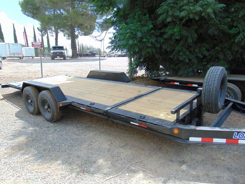 2018 Load Trail TH14 Tilt-N-Go Tilt Deck 14000 Lb. w/8 I-Beam Frame Equipment Trailer