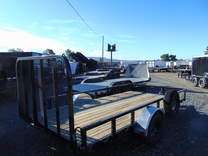 2018 PJ Trailers 14X83 Single Axle Utility Trailer